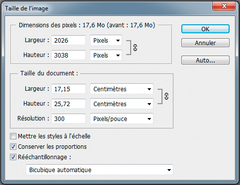 Retoucher - 5 taille image