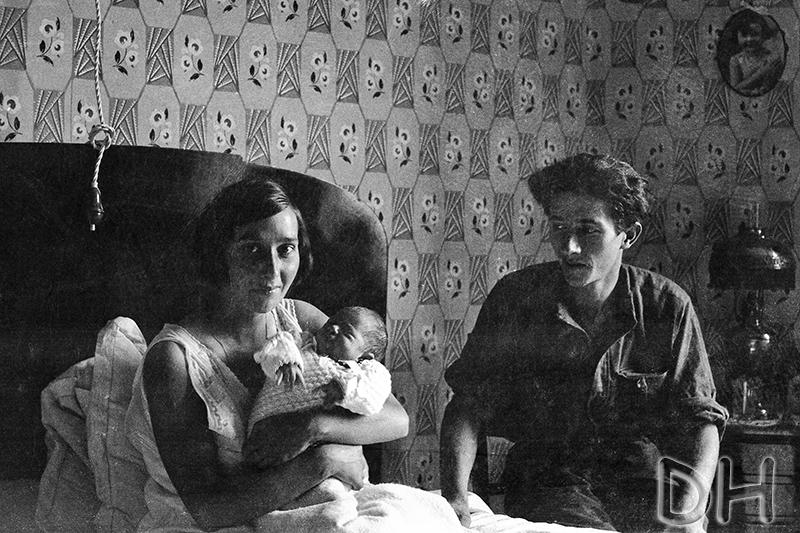 bébé avec Louise et Lucien